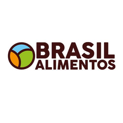Logo Brasil Alimentos Oribá Comunicação