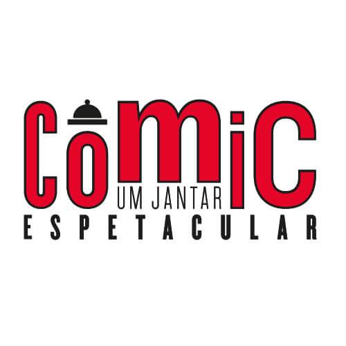 Logo Comic Oribá Comunicação