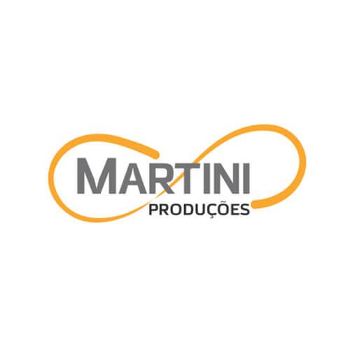 Logo Martini Produções Oribá Comunicação
