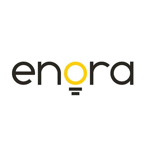 Logo Enora Oribá Comunicação