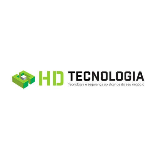 Logo HD Tecnologia Oribá Comunicação