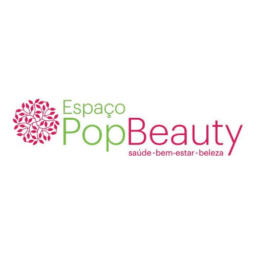 Logo Pop Beauty Oribá Comunicação
