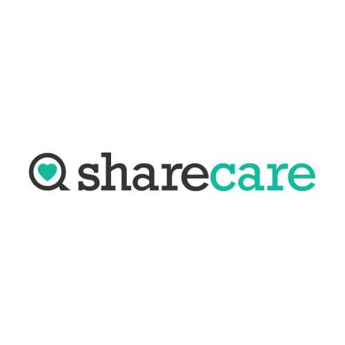 Logo Sharecare Oribá Comunicação
