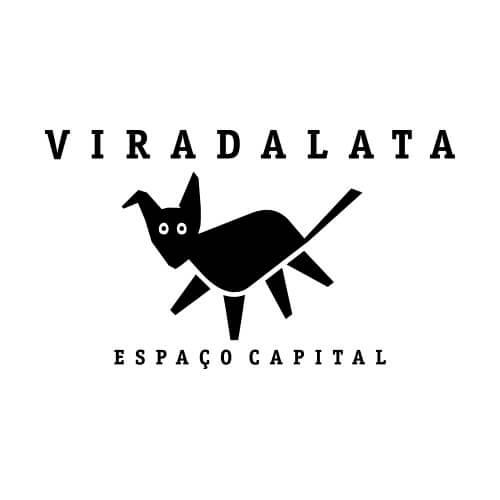Logo Viradalata Oribá Comunicação