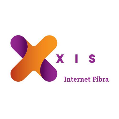 Logo Xis Oribá Comunicação