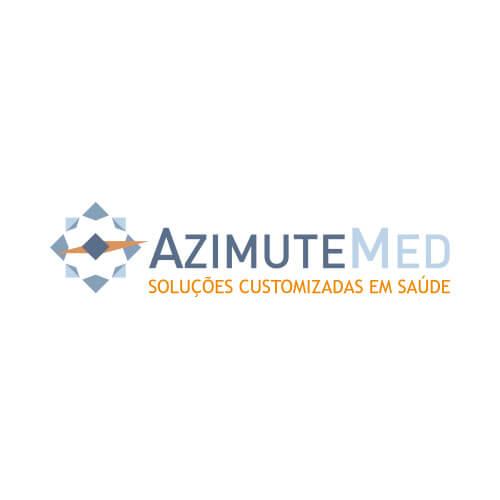 Logo AzimuteMed Cliente Oribá