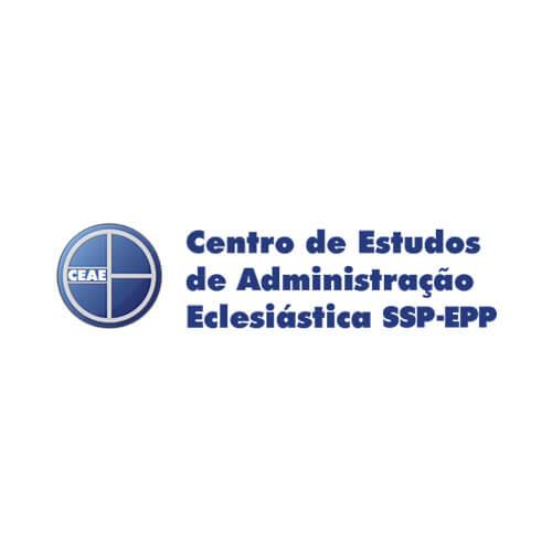Logo Centro de Estudos de Administração Eclesiástica Cliente Oribá