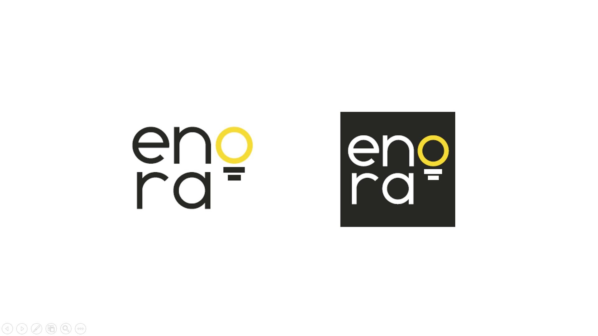 Enora Logo Branding