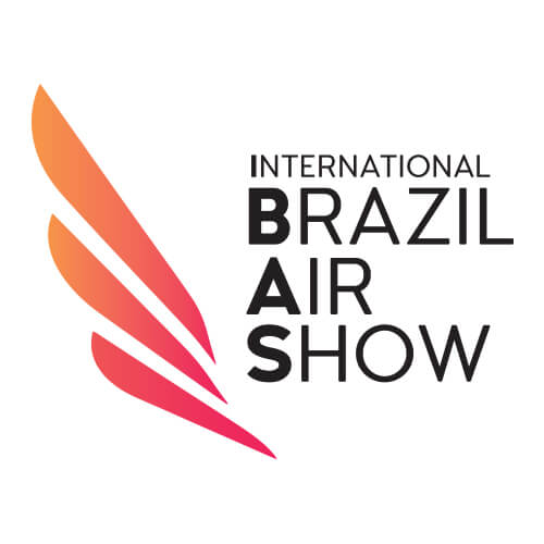 Logo International Brazil Air Show Cliente Oribá