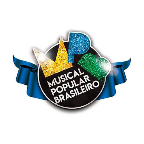 Logo Musical Popular Brasileiro Cliente Oribá